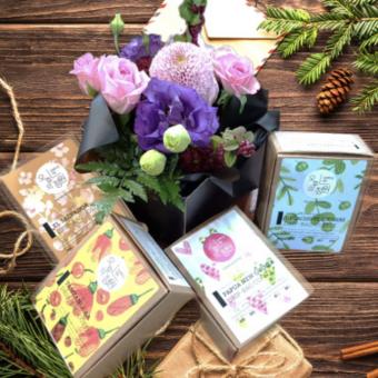 오후의 정원 햇볕 좋은 봄날 드립백 커피세트 (7개 * 4가지)